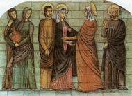 La Visitation de la Sainte Vierge Marie à sa cousine sainte Elisabeth