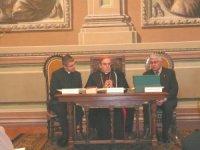 El Cardenal Mons. Lluís Martínez Sistach, presidint l'acte.