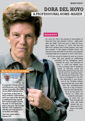 Dora del Hoyo: Newsletter N°1
