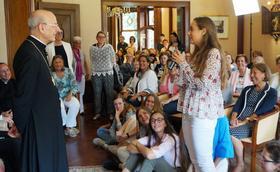Monsignor Ocáriz v Holandsku a Belgicku