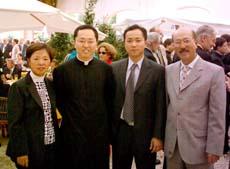 Pe. Ji Young Emiliano com sua família