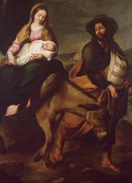 Život Panny Marie (X): Útěk do Egypta