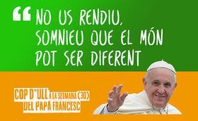 Cop d'ull 30: El Papa engresca els joves a ser motors de pau