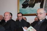Na convivencia, sacerdotes de varias xeracións puideron intercambiar experiencias.