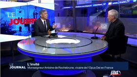 Monseigneur Antoine de Rochebrune : invité sur i24 News