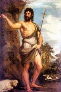 Jean Baptiste, par Titien