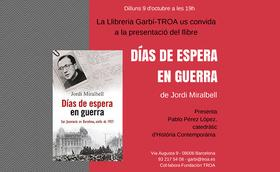 Jordi Miralbell presenta un llibre sobre sant Josepmaria a Barcelona