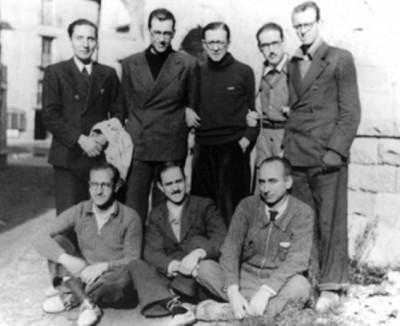 San Josemaría Escrivá, tras cruzar los Pirineos en 1937