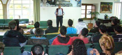 O periodista Juan Vicente Boo (nov 2011) fala do seu mundo, que oferece posibilidades para a reinserción.