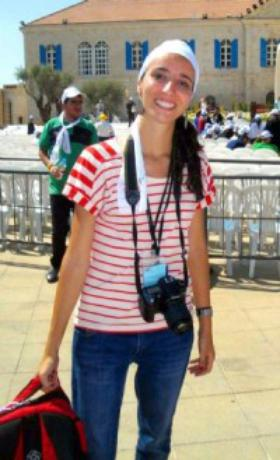 Una comunicadora que trabaja en una ONG en Beirut