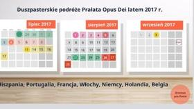 Prezentacja o podróżach Prałata Opus Dei - Lato 2017