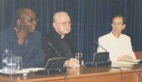 L'abbé Mwanama, Mgr Burke et l'abbé Torres