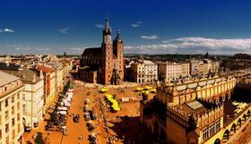 En route pour Cracovie!