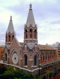 Fachada de la Basílica de La Milagrosa (Madrid)