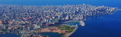 Una immagine di Beirut, capitale del Libano.