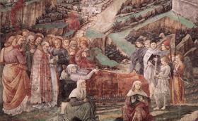 Marias liv (XIX): Vår Frus avsomnande och upptagning