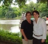 María Luisa y su hija Mónica, que vive en Polonia