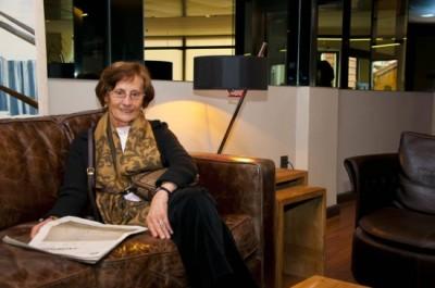 """María Victoria fue galardonada en 2006 con el premio """"Christian Pueschel Memorial Research"""", concedido por la más importante organización de EE.UU dedicada al Síndrome de Down. Foto: Jesús Mazón"""
