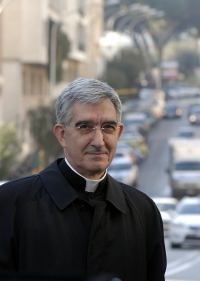 Javier Medina, autor do libro.