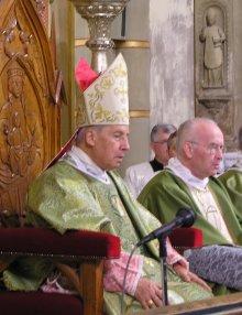 'El cristianismo es alegría y optimismo', dijo el Prelado en la catedral.