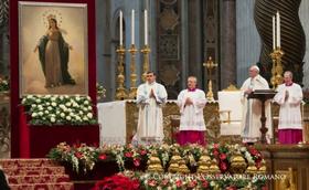 Palavras do Papa Francisco no Natal de 2016, e início de 2017