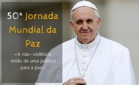«A não-violência: estilo de uma política para a paz»