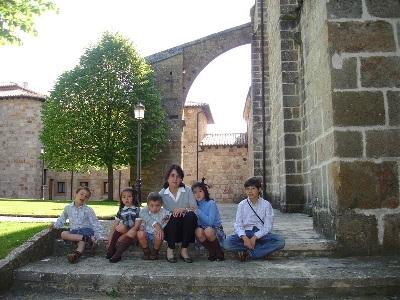 No monasterio de Leyre