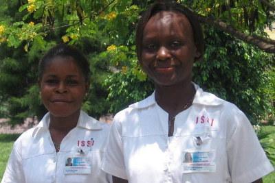 En el ISSI se forman las enfermeras de Monkole y otros centros sanitarios de la ciudad.