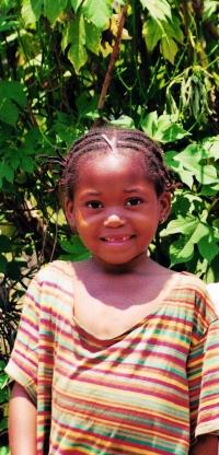Niña congoleña