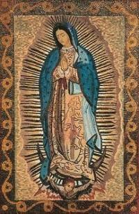 Mosaico de la Virgen de Guadalupe en el Santuario de Torreciudad (Huesca, España)