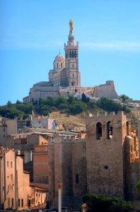 La basilique Notre Dame de la Garde, à Marseille
