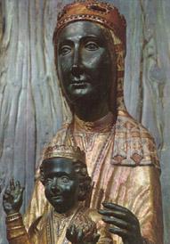 Nª Sª de Montserrat, la 'Moreneta'.