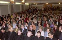El acto se celebró en el C.M. Zurbarán, del que Guadalupe fue directora