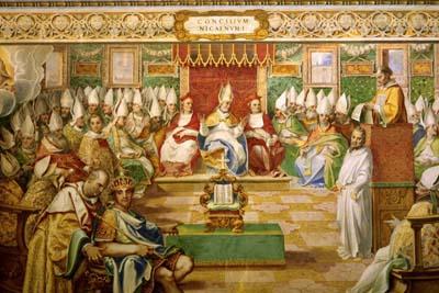 Resultado de imagen para concilio de nicea