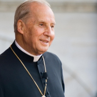 Mons. Javier Echevarría, prelado del Opus Dei.