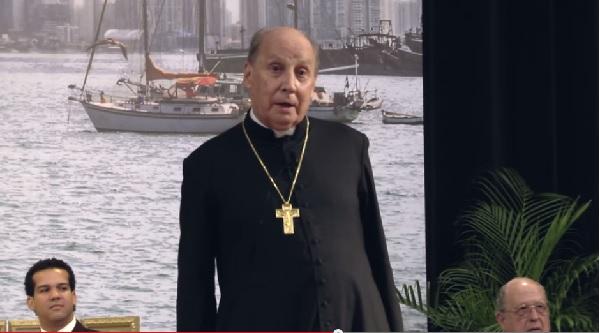 Voyage du Prélat de l'Opus Dei en Amérique centrale