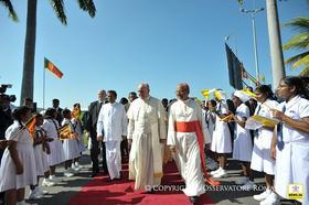 Papa Franjo u Šri Lanki