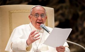 27. rujna 2014.: pismo Pape Franje