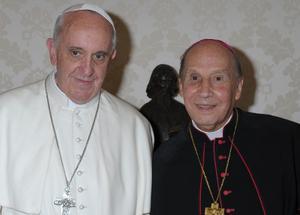 """Mons. Javier Echevarría: """"Gracias, Santo Padre"""""""