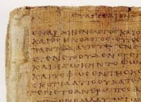 Le papyrus Bodmer (détail)