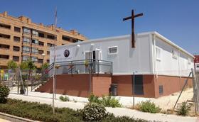Un barracón con alma de parroquia