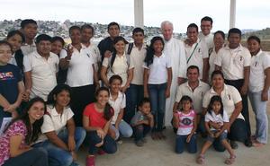 La primera iglesia dedicada al beato Álvaro, en Ecuador