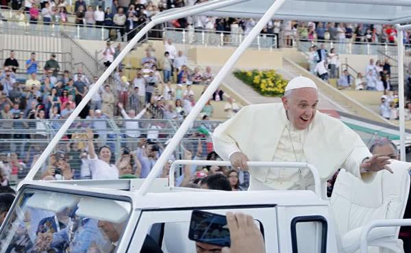 Een pauselijk avontuur in Amman