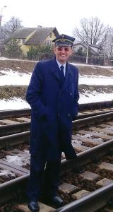 Antoni Idkowiak, järnvägsarbetare i Siedlce i Polen och medarbetare i Opus Dei.