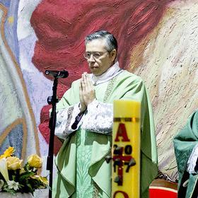 Padre Arenas celebró Primera Misa solemne