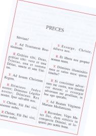 Las preces del Opus Dei