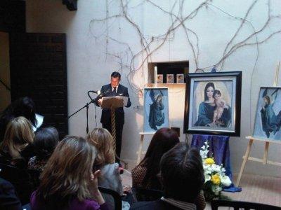 El Pregón de Semana Santa fue pronunciado por el abogado, cofrade y padre de familia Antonio Alés, en el Museo Revello de Toro