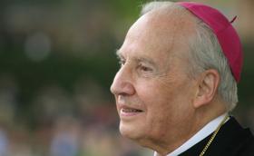 Biskop Javier Echevarría, Opus Deis prelat, har gått bort.