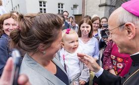 Le prélat en Allemagne : «Soyons des instruments d'unité dans l'Église et dans notre propre famille»