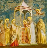 Život Panny Marie (VIII): Uvedení Páně do chrámu